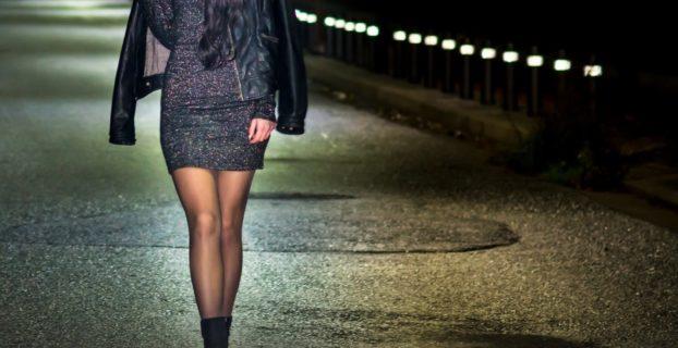 Walking In The Dark At Night